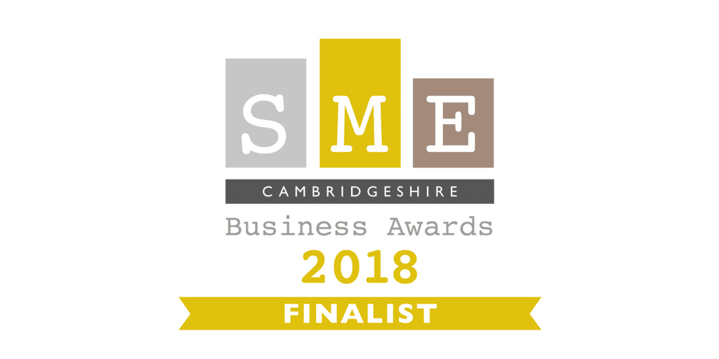 Finalists in SME Cambridgeshire Business Awards
