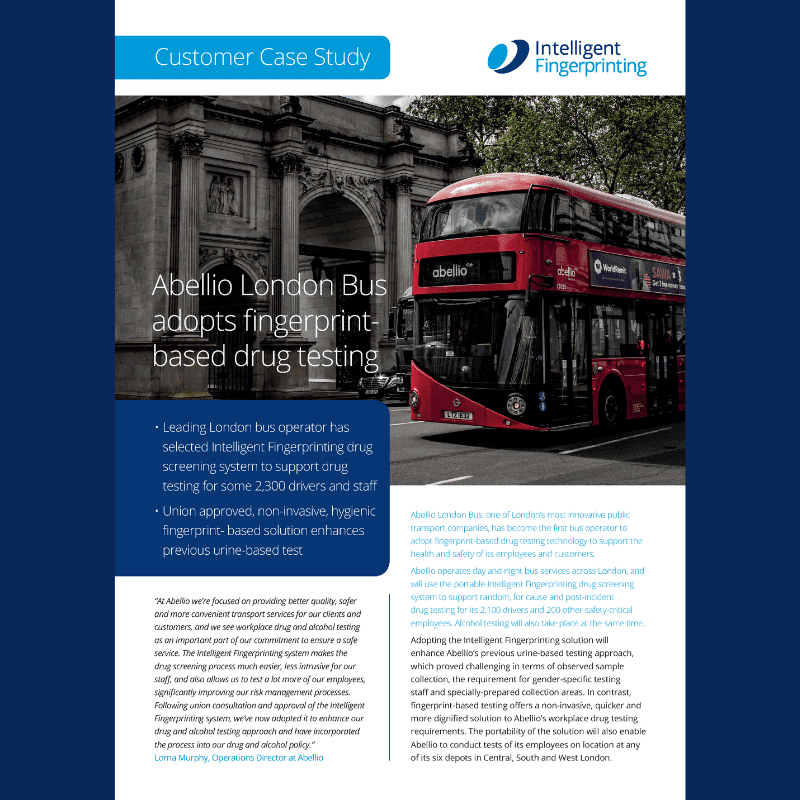 Abellio London Bus Case Study